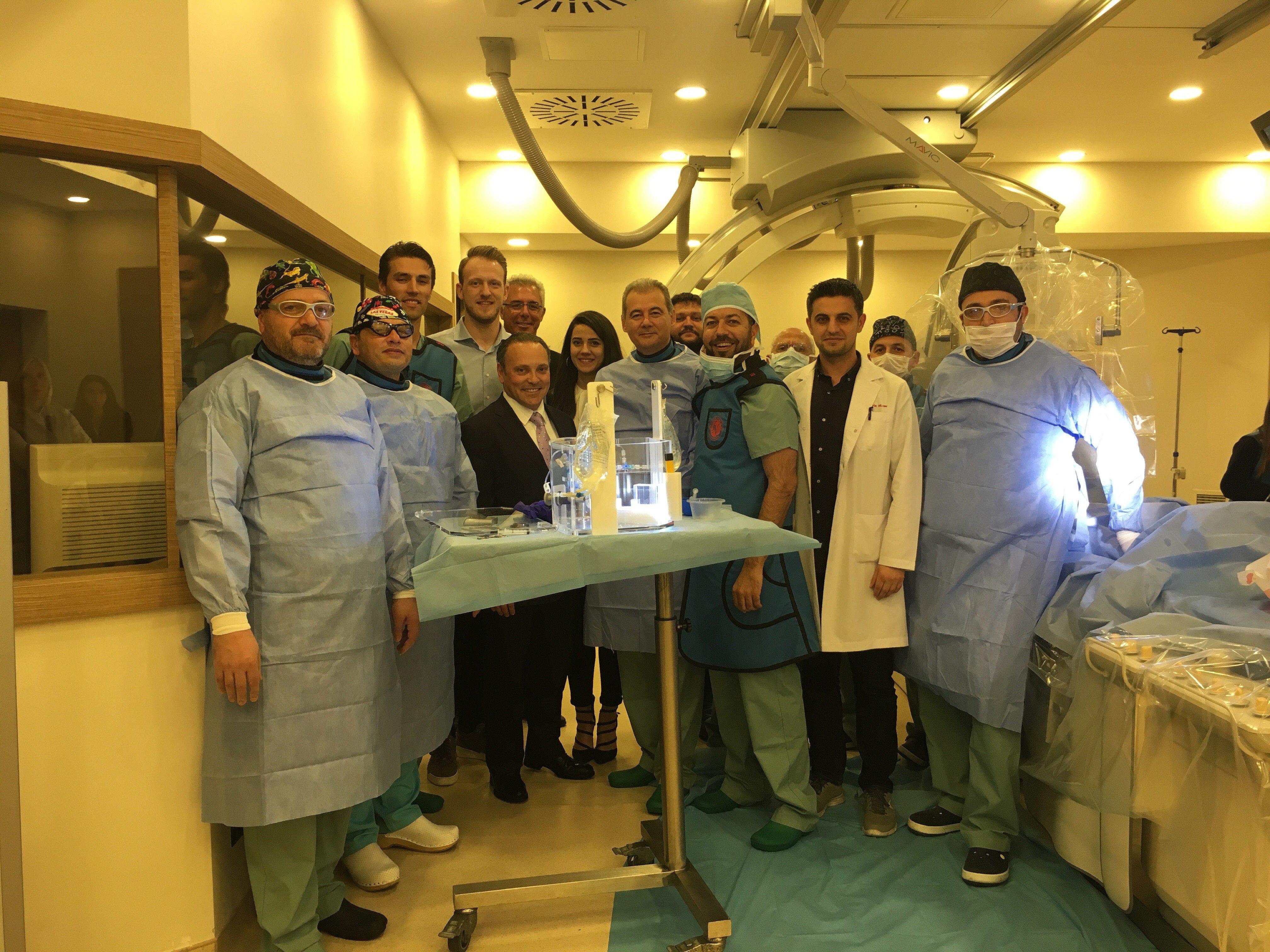 Holmium-166 mikroküre, QuiremSpheres®, Türkiye'de İlk Kez Bir Hastaya Uygulandı